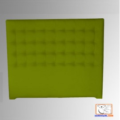 Cabecero Cube Largo 106x125 Polipiel Plata Cod.0199