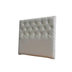 Cabecero Diamond Largo 151 x 125 cm Blanco OFERTON