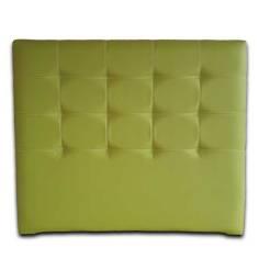 Cabecero Tablet Verde Pistacho Costuras Vistas Blanco 151x125 OFERTON