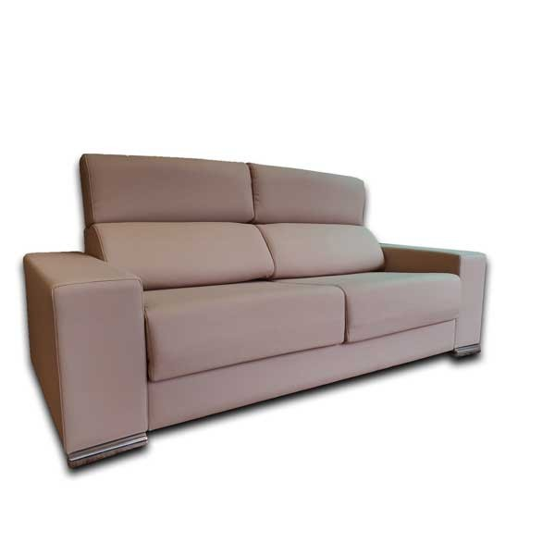 Sofa madrid 3 plazas tela tasco con asientos extraibles - Fundas sofa madrid ...