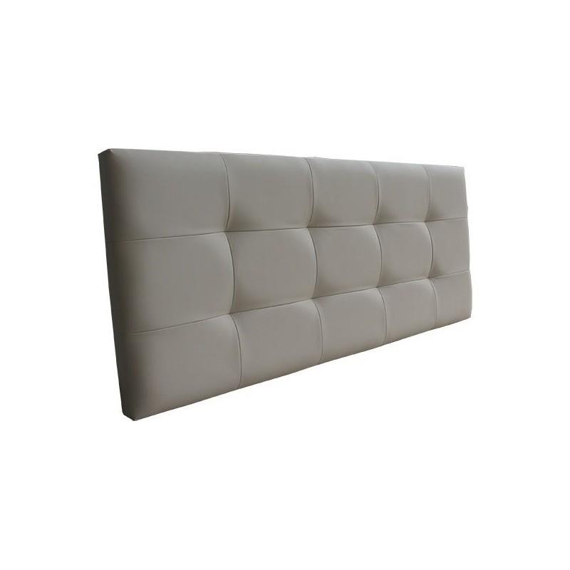 Cabecero o cabezal de cama tapizado en tela o polipiel - Cabeceros a medida ...