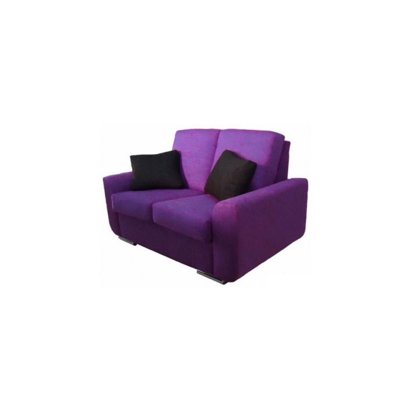 Venta de sof 2 plazas cama con asientos viscoel sticos de for Sofa cama 2 plazas falabella