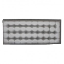 Cabecero Cube Plata 166x70 OFERTON